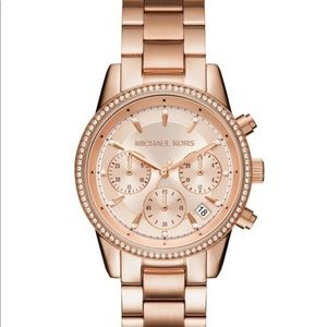 Authentic Michael Kors Watch Rose Gold